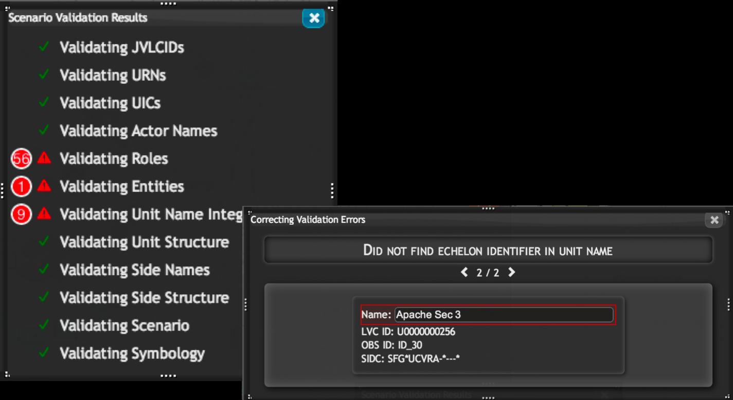WebMSDEScenarioValidation